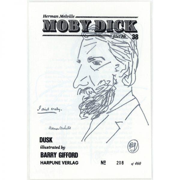 #38 Dusk - by Barry Gifford