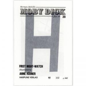 #39 First Night Watch by Anne Rössner